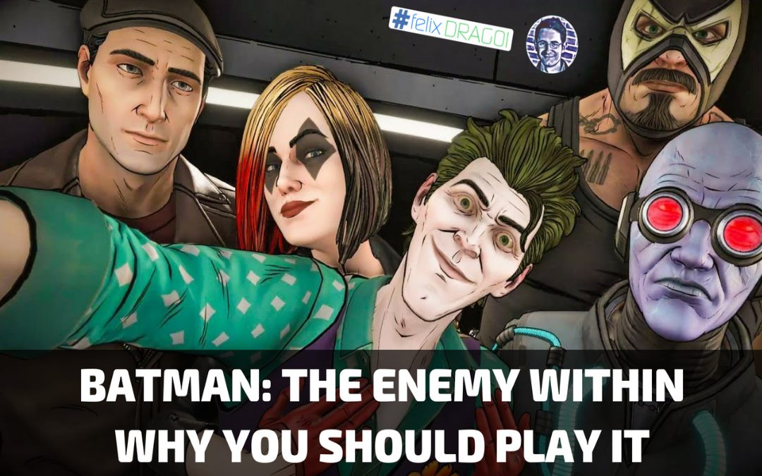 Batman: The Enemy Within – Why You Should Play It (Even if You're Not a Batman Fan)