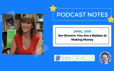 James Altucher podcast – Jen Sincero
