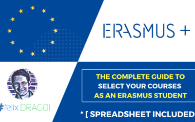 The Complete Guide to Select Your Courses as an Erasmus Student