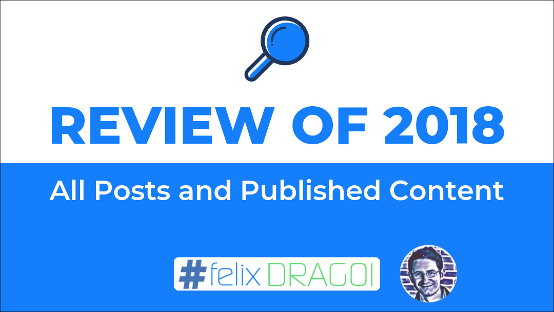 Review of 2018 Posts and Published Content Featured Image