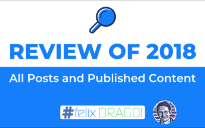 Review of 2018: All Posts and Published Content